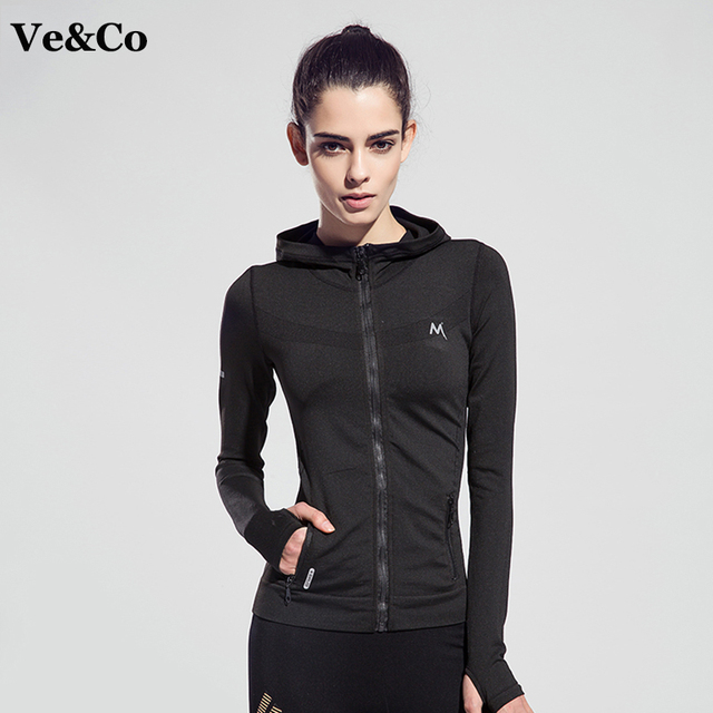 VE&CO Women Yoga Sport Jackets