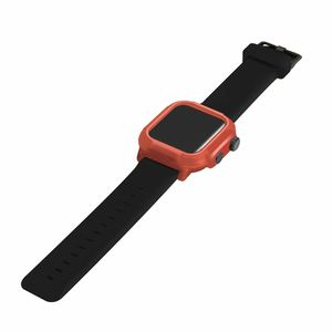 Image 5 - Full Protect IP68 Waterproof Case for Apple Watch Series 5 4 3 2 Silicone Strap Bracelet for iWatch 44mm 42mm Sport Band Cover