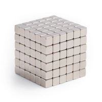 216pcs/pack 5*5*5mm Magic Magnetic Cubes/ Strong NdFeB DIY Buck Cubes/ Neomagnet Cubes Puzzle Magnets