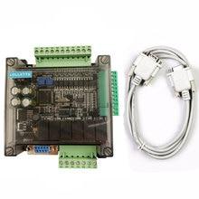 LE3U FX3U 14MR 6AD 2DA RS485 8 entrée 6 sortie relais 6 entrée analogique 2 sortie analogique (0 10V) contrôleur plc RTC (horloge temps réel)