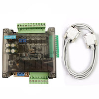 LE3U FX3U 14MR 6AD 2DA RS485 8 input 6 relay output 6 analog input 2 analog (0 10V) output plc controller RTC (real time clock)