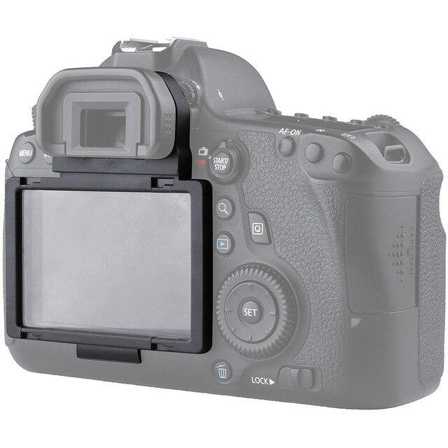 Funda protectora de pantalla LCD de vidrio óptico para cámara Canon 6D DSLR GGS, película protectora de pantalla