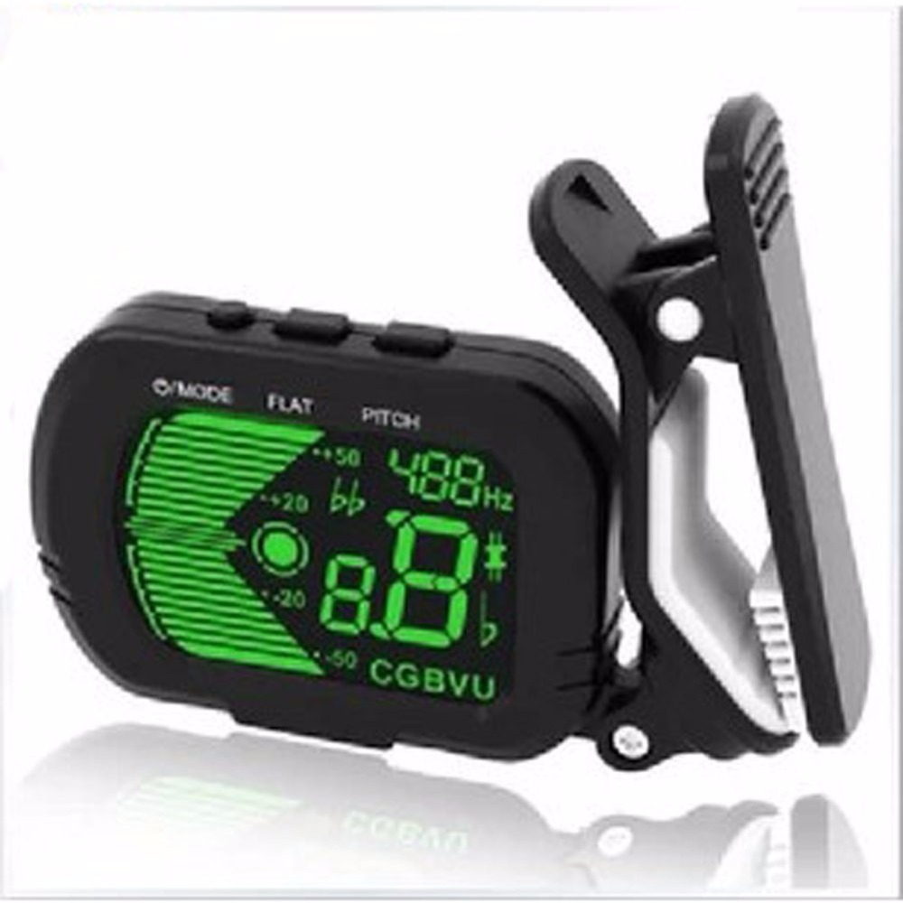Musedo T-40 Accurate and Easy to Use Clip-on Tuner For Chromatic Guitar Bass Violin C Key Ukulele D Key Uklele easy guide to sewing tops and t shirts skirts and pants