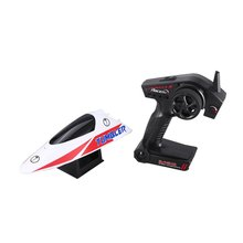 UMBLER V796-1 25km/h 2.4G Brushed High Speed RC Racing Boat Speedboat Ship with Water Cooling System Self-righting Kids Gift