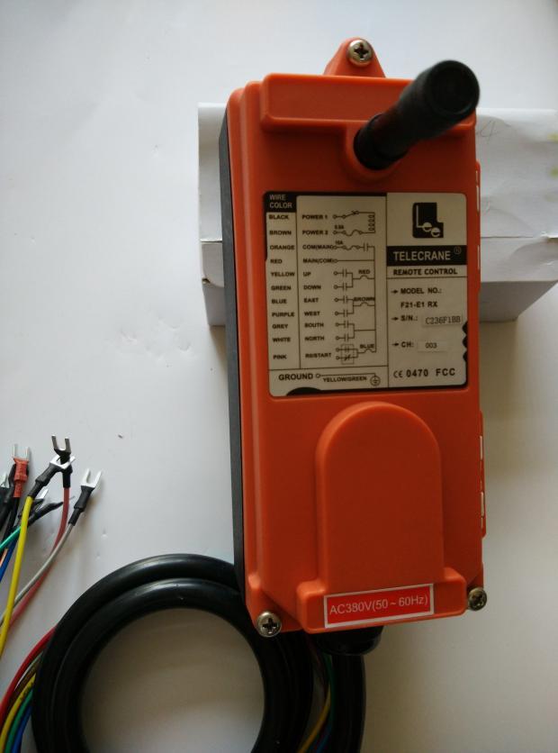 Image 3 - 380v Telecrance F21 E1B промышленное радио дистанционное управление для крана-in Детали и аксессуары для мотовездехода from Автомобили и мотоциклы