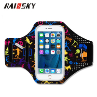 Haissky 5 5 Waterproof Running Fitness Sport Armbands For IPhone 6 7 Plus Huawei P10 Samsung