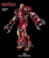 5 типов 1:9 масштаб коллекционные Железный человек 1/9 Железный человек 3 MK35/MK43/MK45/MK46 Diecast Фигура серии фигурку