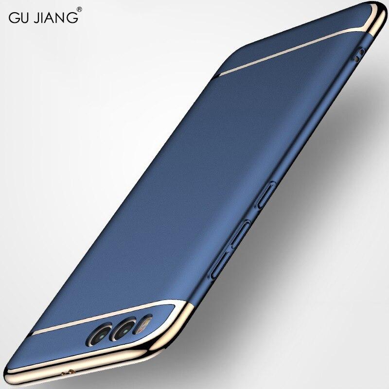Honig Gujiang Marke Luxus Abdeckung Ultradünne Telefon Beschützer Fall Für Xiaomi Mi 6 Harte Pc Elektronische Beschichtung Shell Tasche Für Xiaomi6 Handytaschen & -hüllen