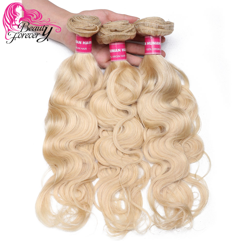 Brazilian Body Wave Hair Weaves 613 Color 3 Bundles 100 Remy Human Hair Weaving