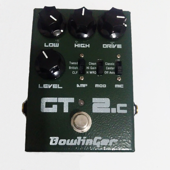 Complex Moment Classic Distortion GT2 Electric Guitar Pedal Guitar Effects