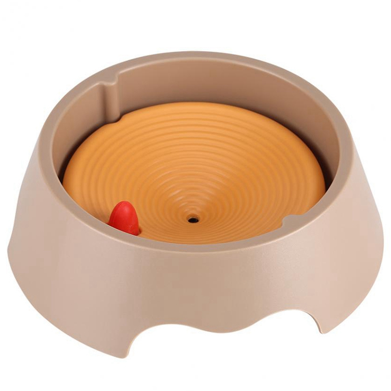 Kimpets Spill-Proof Pet Dogs Cats Water Bowl Floating Drinking Bowls Dogs Cats Food Dish Pet Supplies