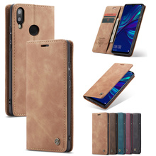 Caseme Brand Case for Huawei P20 P30 Lite Leather Wallet Cover Coque Huawai P 20 30 Pro Smart 2019 Holder Full Protection Etui