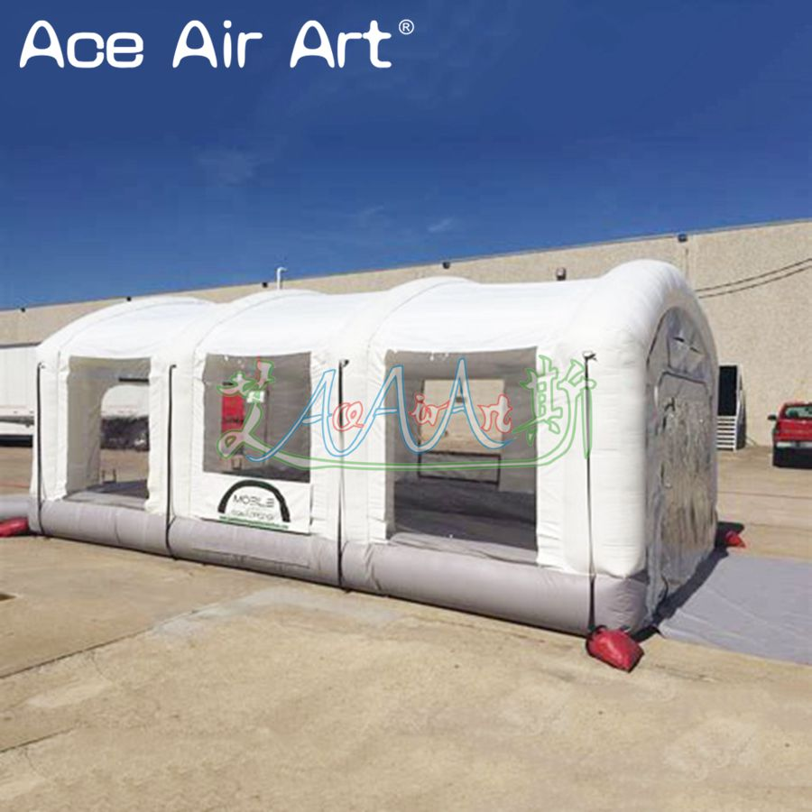 US $1365 0 |Alibaba China portable homemade inflatable outdoor spray booth  / inflatable airbrush spray booth for convenience use-in Party Backdrops