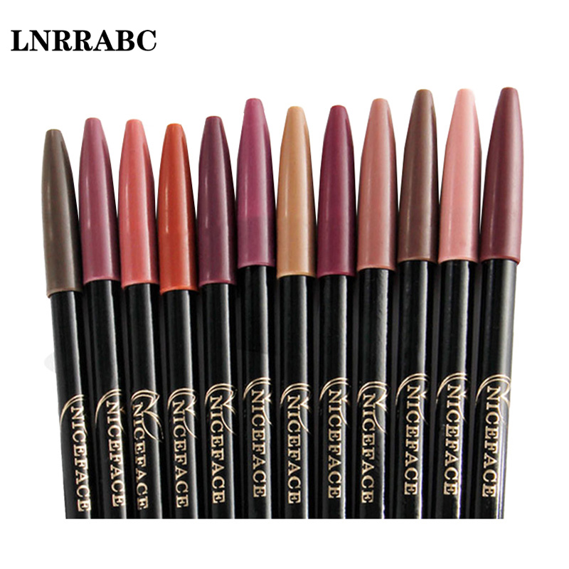 LNRRABC Sale Women Lipstick pen Lasting Long Waterproof Charm Beauty Cosmetics Makeup Tools Lip/eye Liner Pencil