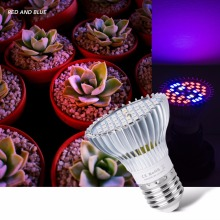 Grow LED Lamp E27 Full Spectrum Light 30W 50W 80W UV Plant Growing 220V Bulb Hydroponics Tent 5730