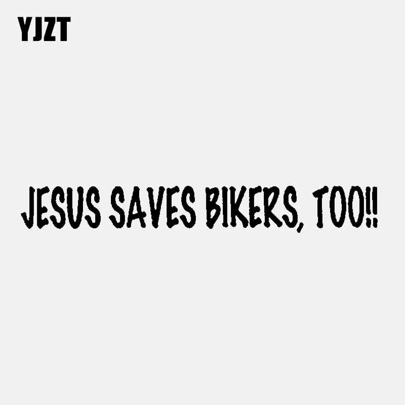 TOO! HARD HAT STICKER HELMET STICKER JESUS SAVES BIKERS