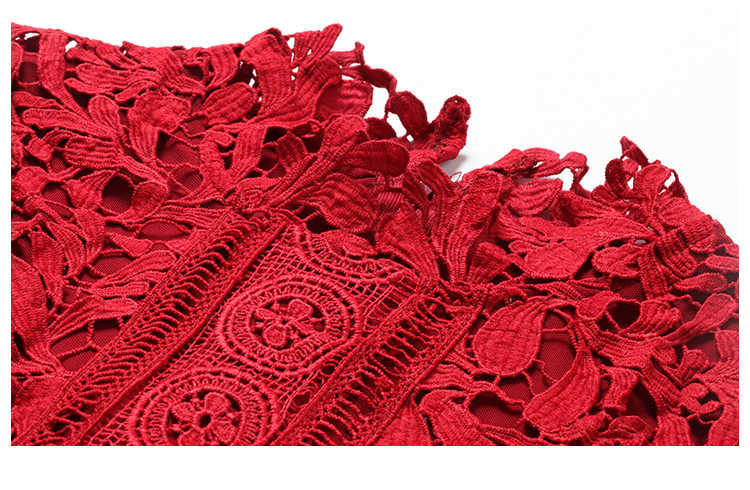 dfdd7a9c57 2019 Elegant Evening Party Dress Mermaid Bodycon Dresses Red Bardot Lace  Fishtail Long Sleeve Dress long Evening Gown Vestidos