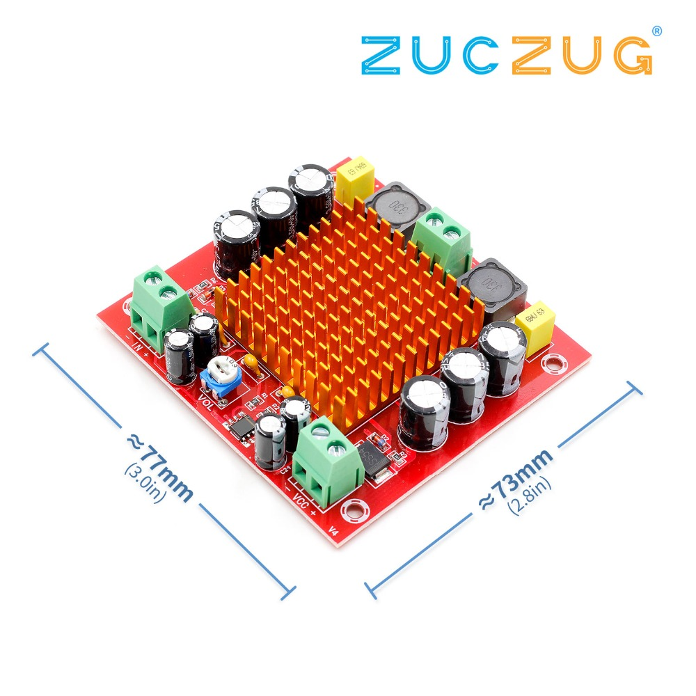 youe shone XH-M544 DC 12V 24V 150W TPA3116DA TPA3116 D2 Mono Channel Digital Power Audio Amplifier Amp Board With Preamplifieryoue shone XH-M544 DC 12V 24V 150W TPA3116DA TPA3116 D2 Mono Channel Digital Power Audio Amplifier Amp Board With Preamplifier