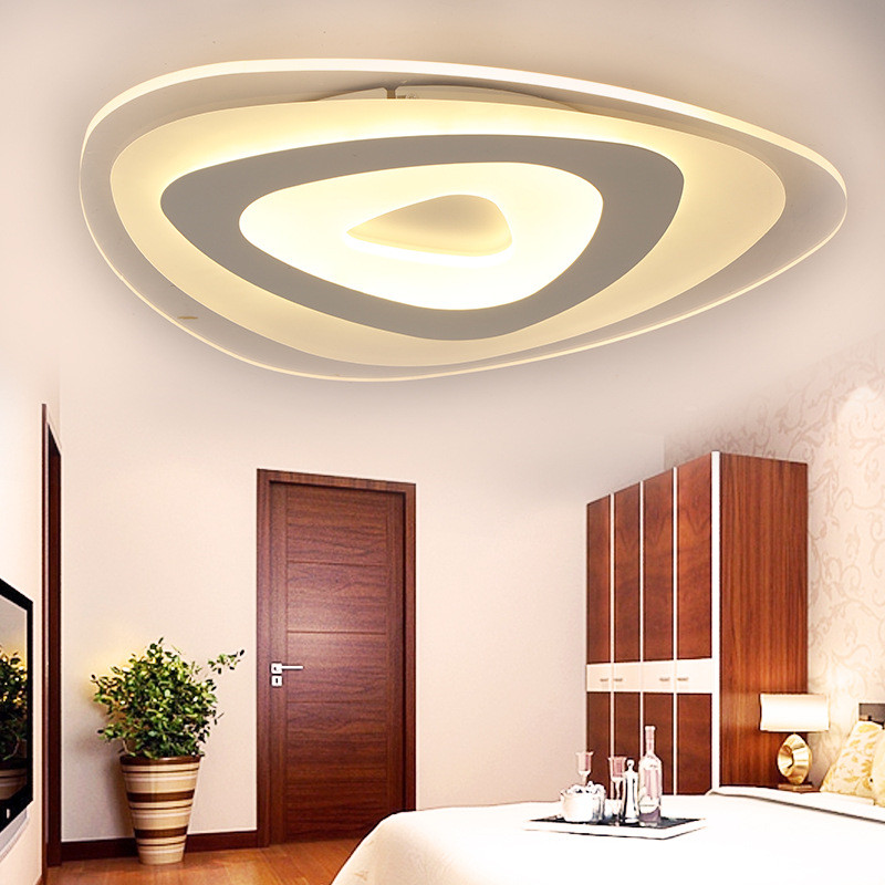 Led Ceiling Lamp Acrylic Strange Shape Dining Room Living