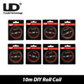 30ft Original UD Atomizer DIY Roll Coil Wire Kanthal A1 Nichrome Pure Nickel for RDA/RTA Atomizer DIY Coil Fast Heating 10m