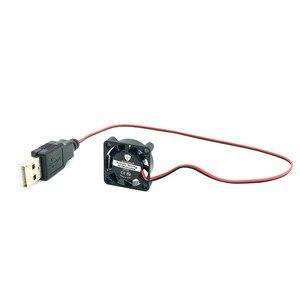 Image 5 - GUNCAIZHU 25mm Không Chổi Than Quạt Tản Nhiệt 12V 5V DC Mini Quạt tốc độ cao 11870 VÒNG/PHÚT 2.5cm micro quạt tản nhiệt 2507 25x25x7mm