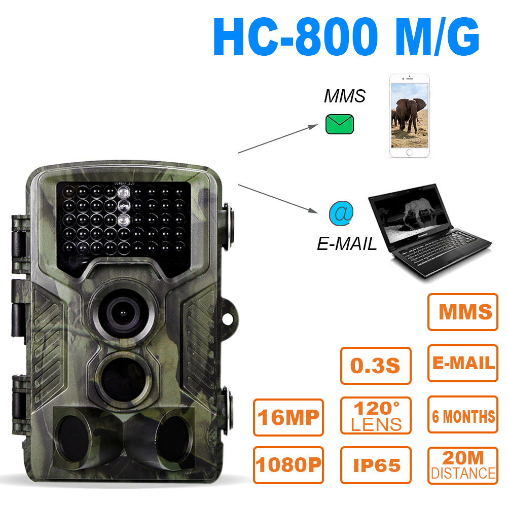 Super Fast 12MP 1080P HC 800A Trail Camera Hunting Camera Outdoor Wildlife Scouting Camera with PIR Sensor Infrared Night Vision hc 800a 12mp 1080p infrared digital trail camera 120 degree wide angle night vision hunting camera wildlife scouting device