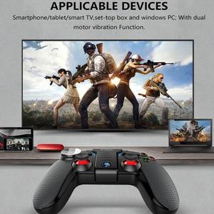 Image 3 - IPega PG 9099 אלחוטי Gamepad אנדרואיד טלפון עבור Ps3 בקר Bluetooth ג ויסטיק משחקים P3 כפולה מנוע רטט טורבו משחק Pad