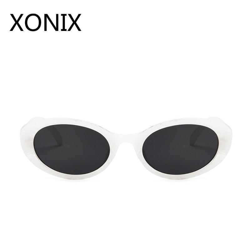 XONIX Small Frame Oval Zonnebril Dames Heren Merk Designer 2018 Zomer - Kledingaccessoires - Foto 5