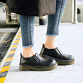 Ladies's platform casual shoes slip on women's shoes flat oxford shoes for women tenis feminino zapatos mujer size35-39