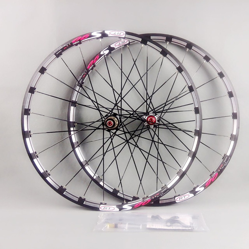 MEROCA mountain bike bicycle front 2 rear 5 sealed bearing japan hub super smooth wheel wheelset