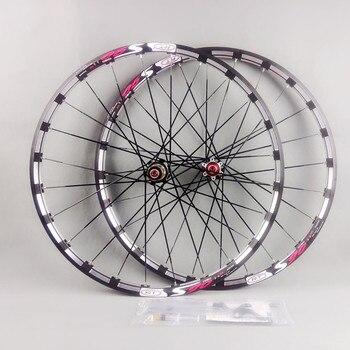 MEROCA mountainbike fiets voor 2 achter 5 afgedicht lager japan hub super glad wiel wielset Velg