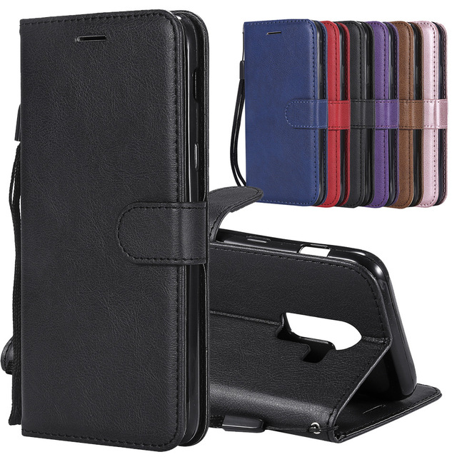 For Coque Samsung Galaxy J8 Case Leather Wallet Phone Case Samsung Galaxy J8 2018 Case Luxury Flilp Leather Cover For Samsung J8