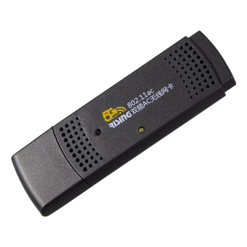 70f039ed33 1 unids adaptador USB inalámbrico 300 Mbps USB WiFi 802.11a B g n adaptador  de banda dual 2.4g 5G Red Lan card botón WPS