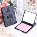 Rosa de La Vendimia mini espejo de maquillaje espejo de bolsillo compacto Sola cara espejos de Maquillaje de Limpieza de Aceite de Absorción de Papel de Cara