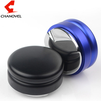 CHANOVEL Espresso 58mm Coffee Distributor Leveler Tool Macaron Coffee Tamper with Three Angled Slopes