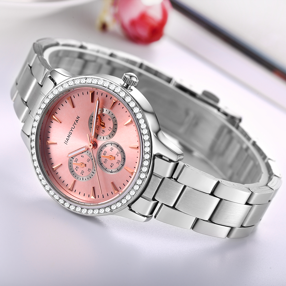 JiangYuyan Brand Ladies Watch Vattentät Quartz Watch Fashion Casual - Damklockor