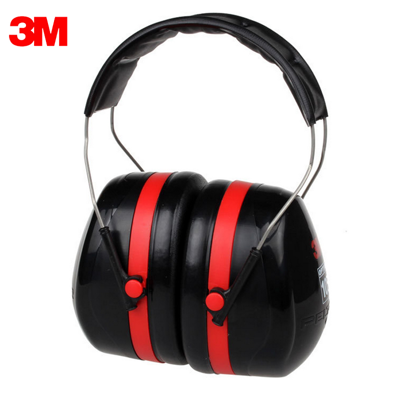 3M H10A Safety Anti-noise Earmuffs Ear Protector Outdoor Hunting Shooting Sleep Soundproof factory learn Mute Ear protection