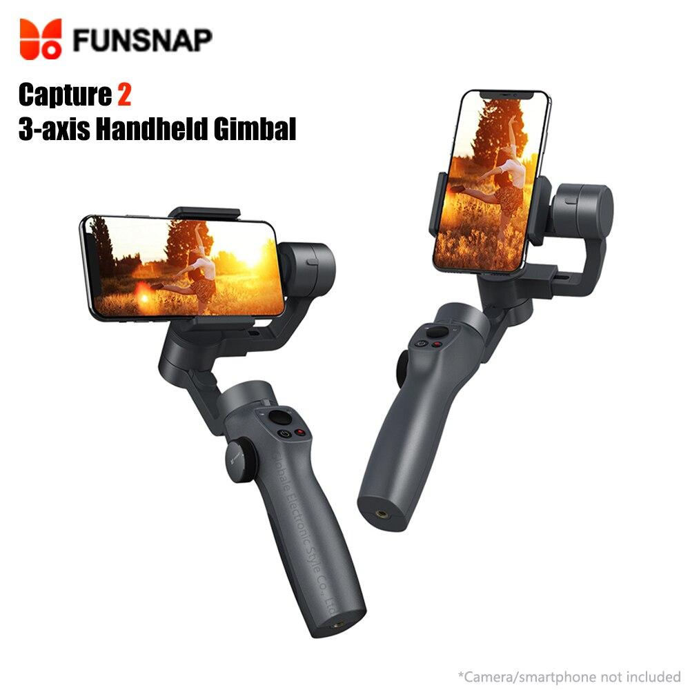 Original FUNSNAP Capture 2 3-axis Handheld Gimbal Camera Stabilizer for SmartphoneOriginal FUNSNAP Capture 2 3-axis Handheld Gimbal Camera Stabilizer for Smartphone