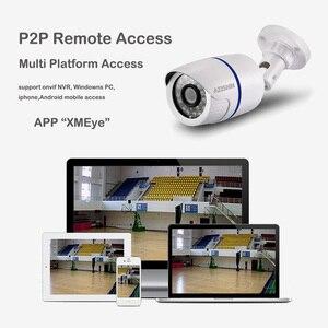 Image 5 - IP камера видеонаблюдения AZISHN H.265/H.264 FULL HD 1080P 2,0 мегапикселей onvif 24IR наружная камера видеонаблюдения IP 1080P DC 12 В/48 в PoE