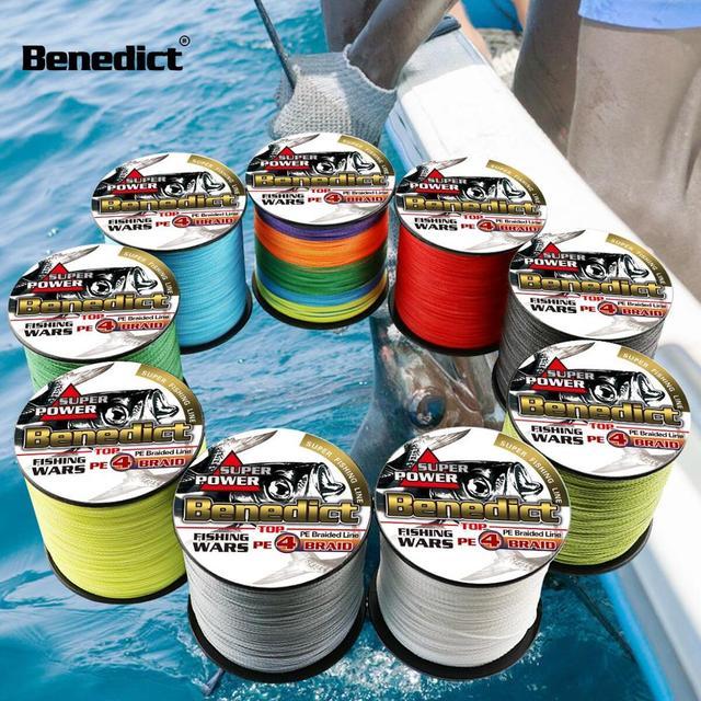 Новинка 300 м мультифиламентная леска оплетка 6LB-100LB Pe супер сильная плетеная леска для рыбалки 4x рыболовный шнур нить рыболовные шнуры