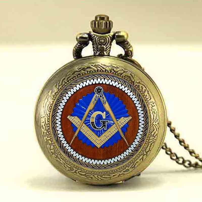 USA Hot Theme Masonic Freemason Freemasonry G Pocket Watch Mens Gift Watches drop Shipping freedom necklace pendants 1pcs/lot