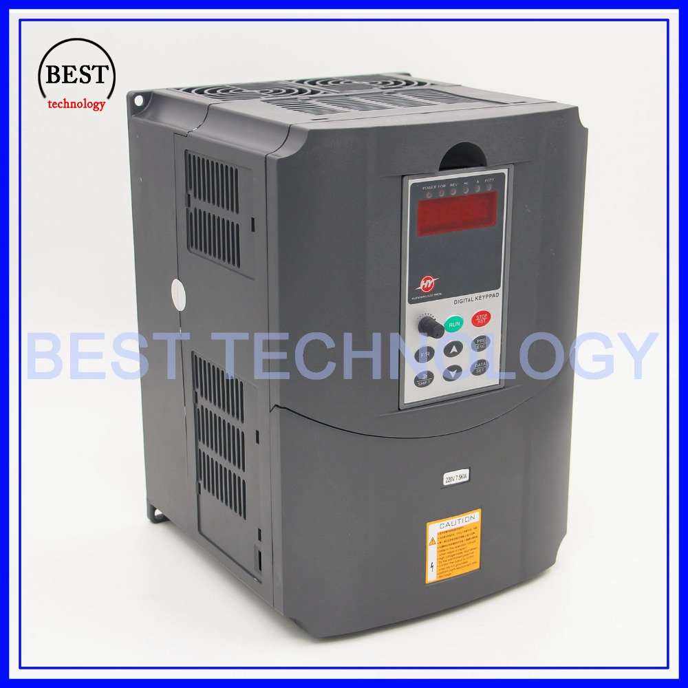 220v 7.5kw  VFD Variable Frequency Drive  Inverter / VFD1HP or 3HP Input 3HP Output CNC spindle  Driver spindle speed control-in Inverters & Converters from Home Improvement    3
