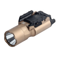 Military Grade Aviation AluminumTactical flashlight X300 Airsoft Element Tactical Weapon Light 20mm Picatinny Rail For Hunting