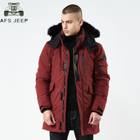 High quality 2018 Thick Warm Winter Jacket Men Windproof Long Hooded Parka with Fur Collar Plus Size 3XL parkas hombre invierno