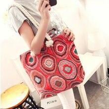 WWomen Canvas Messenger Bag Female Shoulder Bags Ladies Beach Top-Handle Bags Stripe Tote Shopping Purse Bolsa Large Handbags стоимость