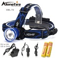 AloneFire HP87 XML T6 2000LM Headlamp CREE Headlight 3modes Waterproof Rechargeable LED light