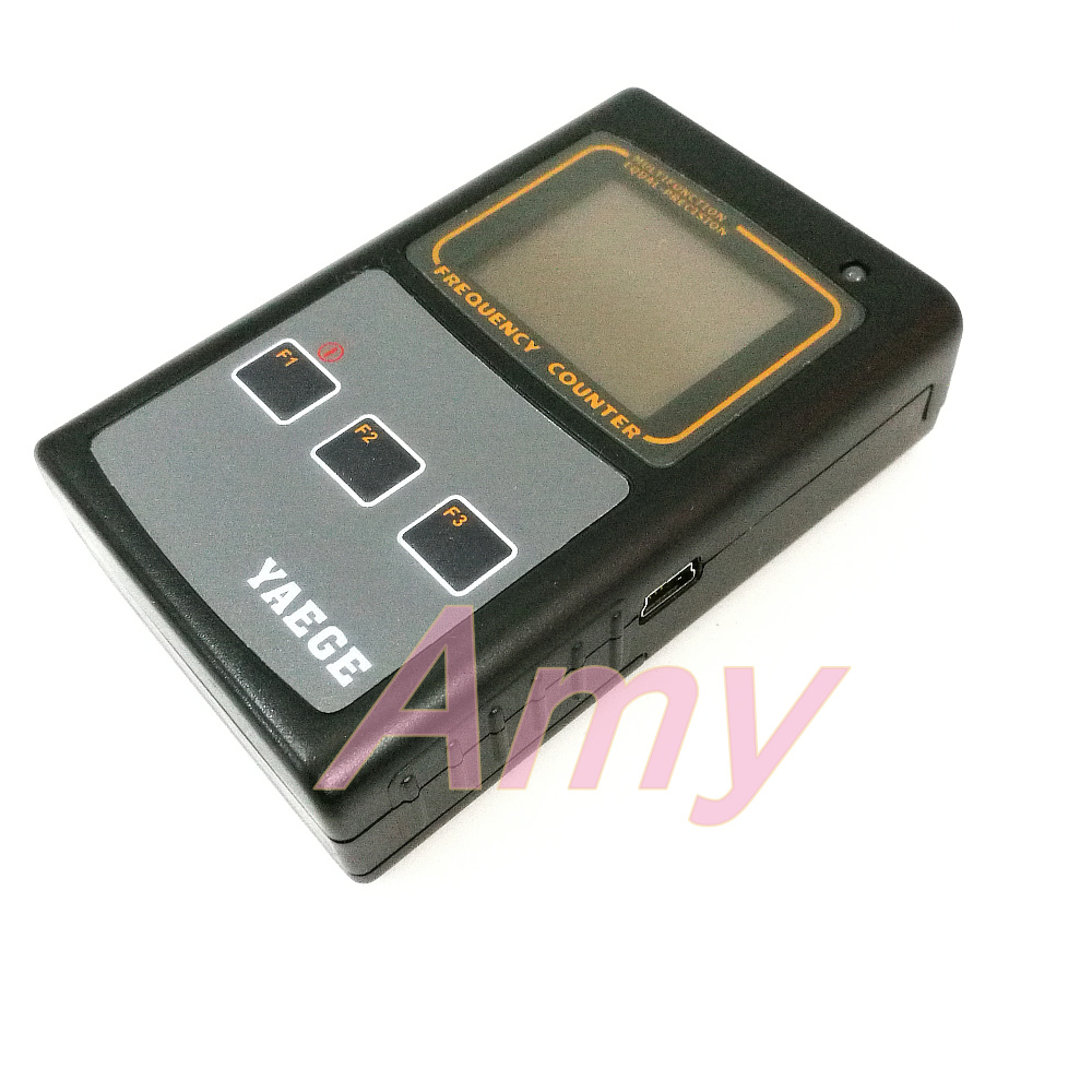 YAEGEFC 1 dual channel temperature compensation benchmark handheld frequency meter is easy to operate, reliable.-in Reactive Power Controllers from Home Improvement    3