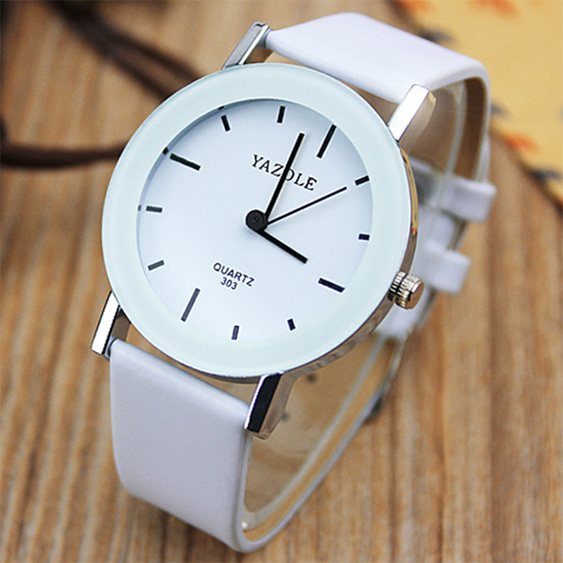 YAZOLE Fashion Casual Quartz Watch Women Watches Ladies 2017 Brand Famous Wrist Watch Female Clock Montre Femme Relogio Feminino 2017 fashion simple wrist watch women watches ladies luxury brand famous quartz watch female clock relogio feminino montre femme