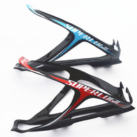 New Arrivel Superlogic Ultralight Full Carbon Bottle Cages Cycling Bicycle Bottle Cage 24g 2color