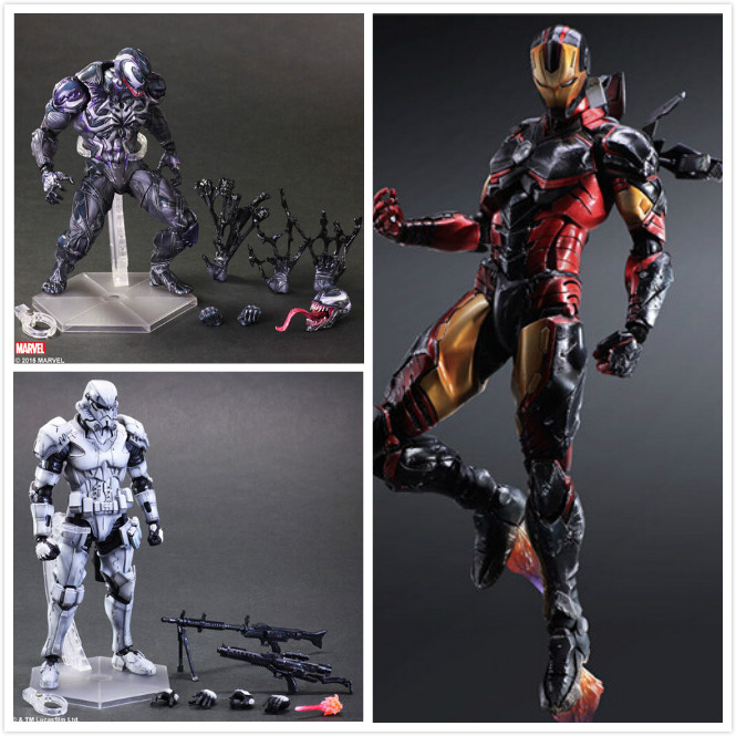 Anime Character 3pcs/set star <font><b>wars</b></font> removable white Darth Vader Avengers <font><b>Spider</b></font> <font><b>Man</b></font> <font><b>Iron</b></font> <font><b>man</b></font> action pvc figure in box via EMS.